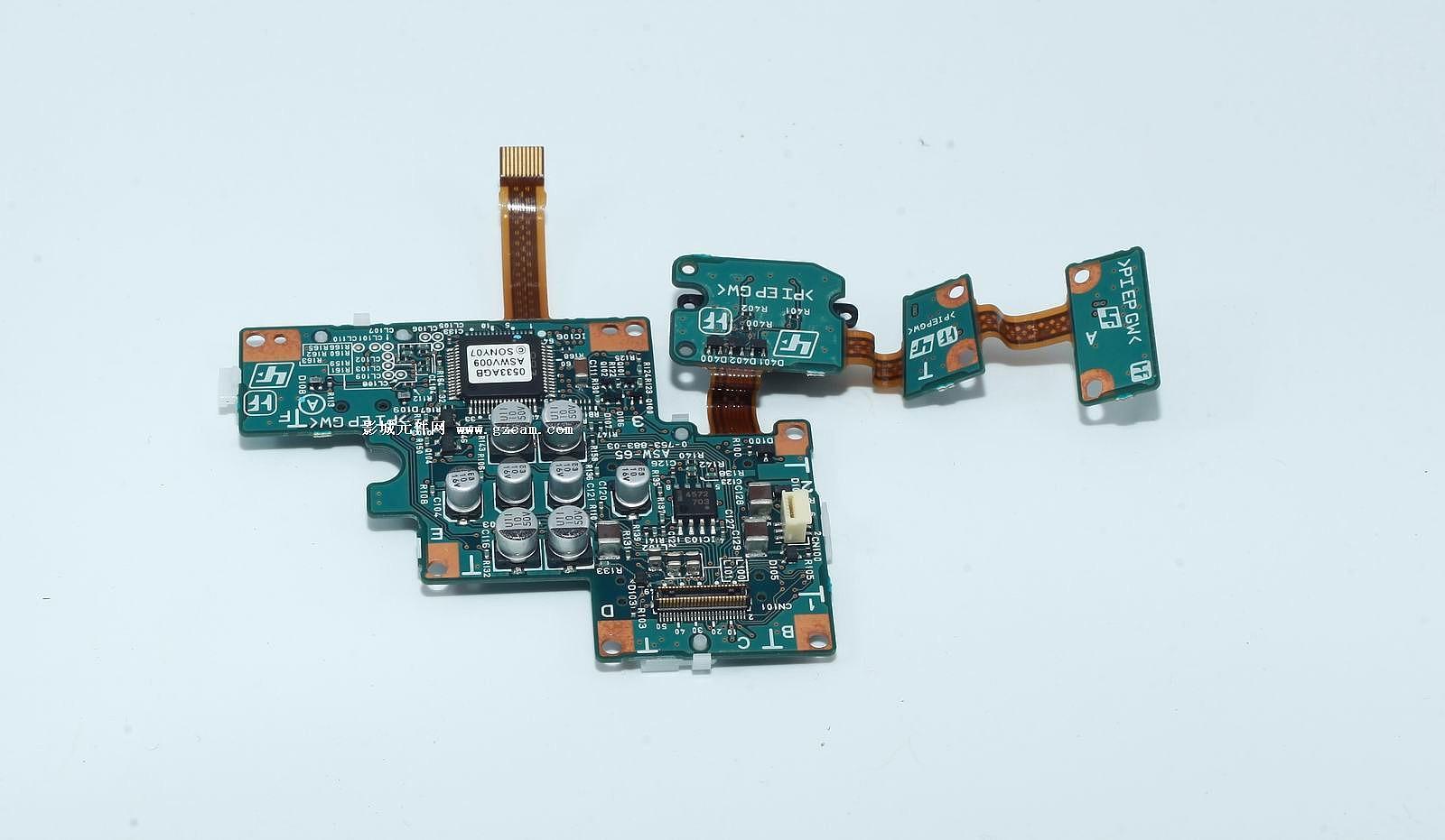 产品展示 索尼- 索尼pmw-ex1电源开关电路板